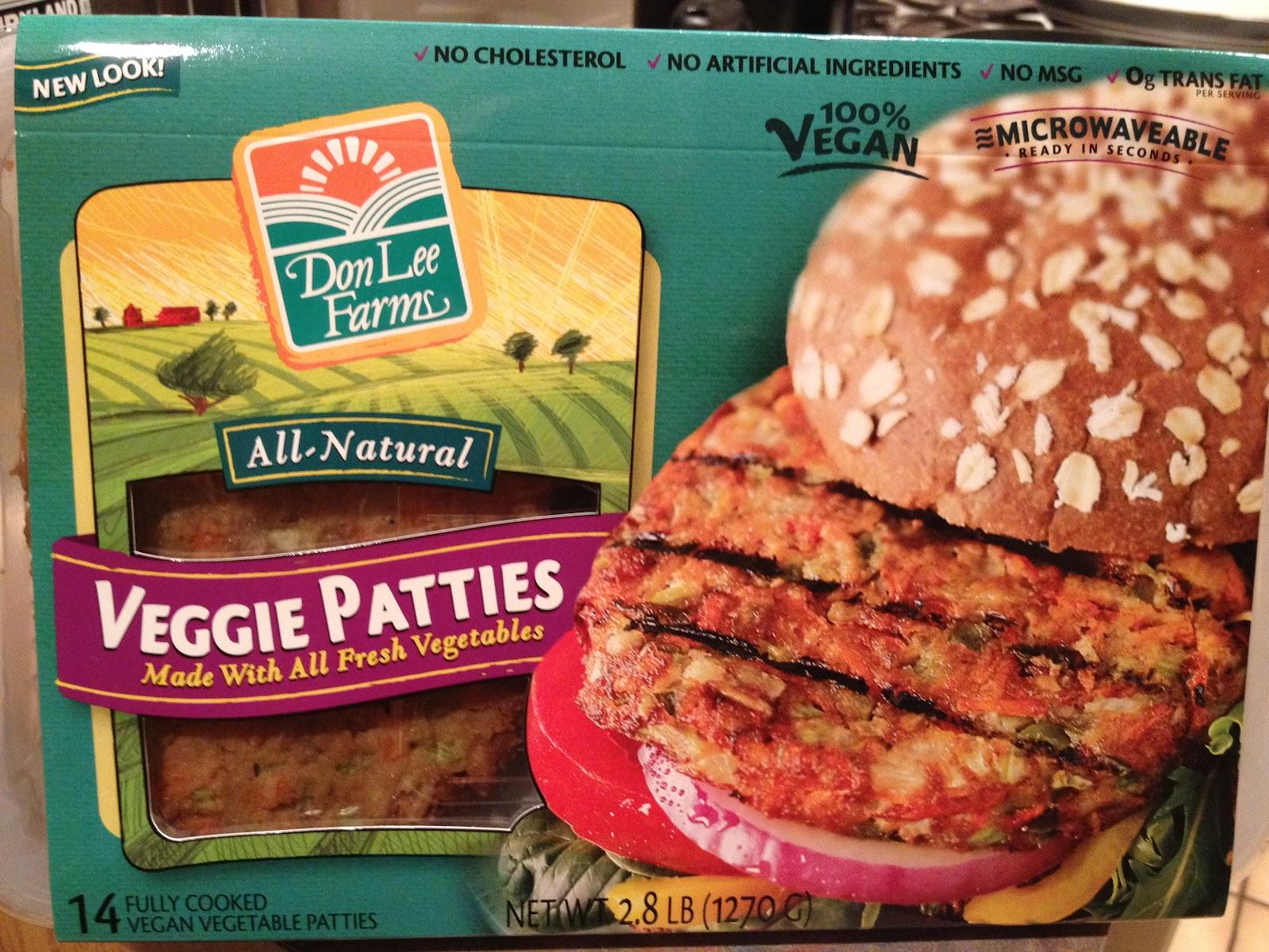 Don Lee Farms Veggie Burgers